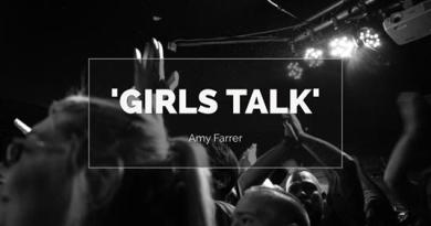 Amy Farrer Talking about her Girls Talk Project