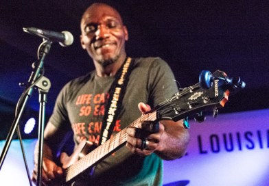 Cedric Burnside Brings Hill Country Blues to Louisiana