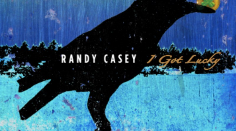 Randy Casey thanks his guitar on I Got Lucky