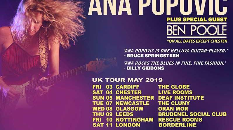 Ana Popovic talking music guitars touring and sexism