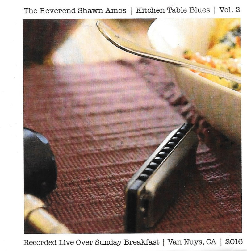The Rev Shawn Amos dishes up Volume 2 of Kitchen Blues