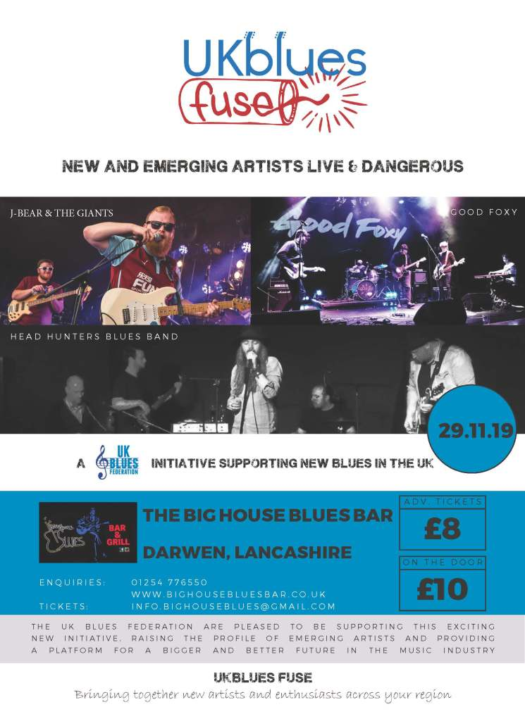 New Showcase for live Blues music -  UKBlues Fuse