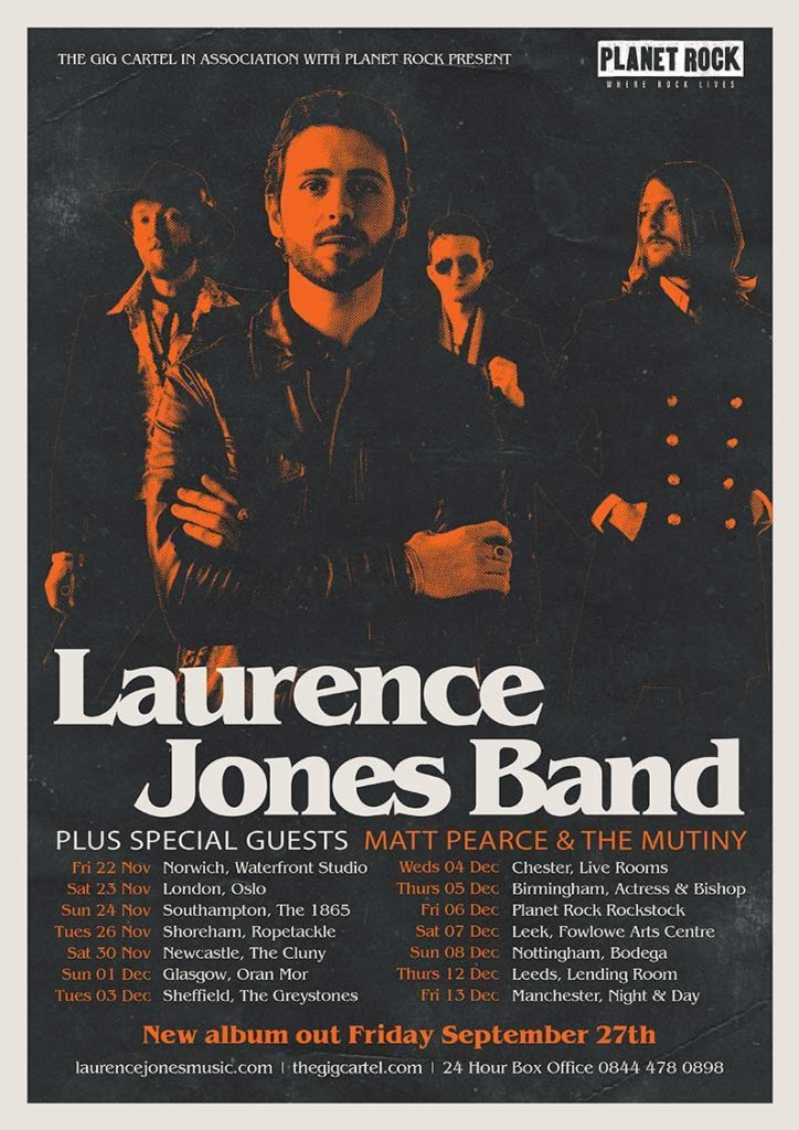 Laurence Jones In Conversation New Album and More