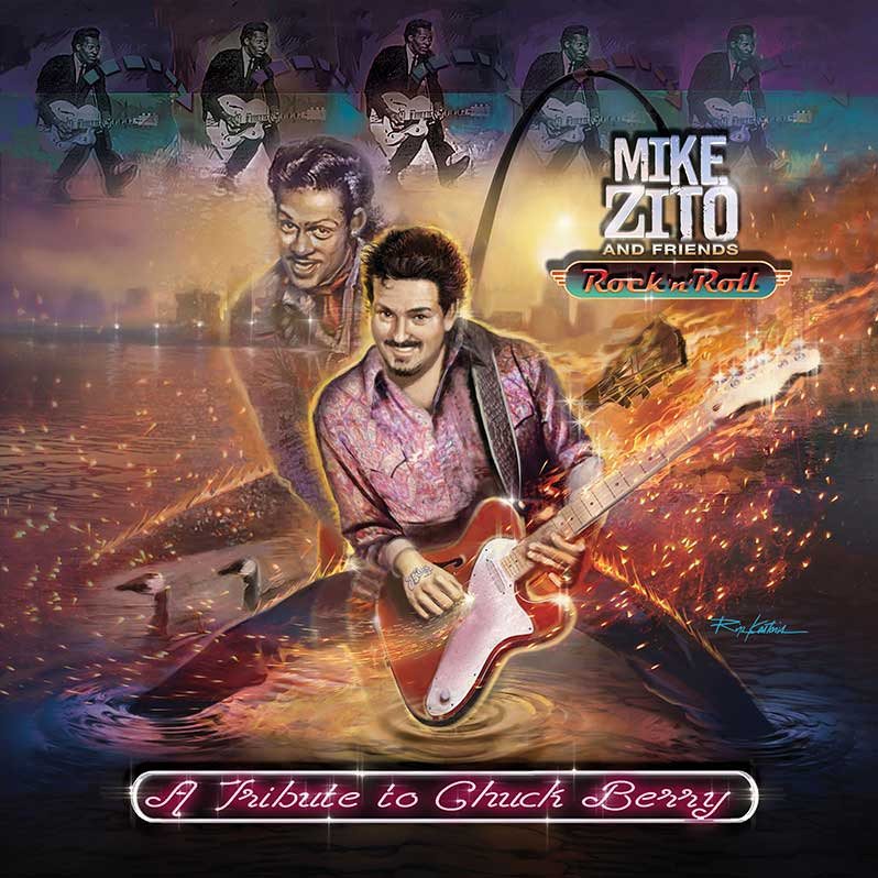 Mike Zito and Friends pay tribute to Chuck Berry