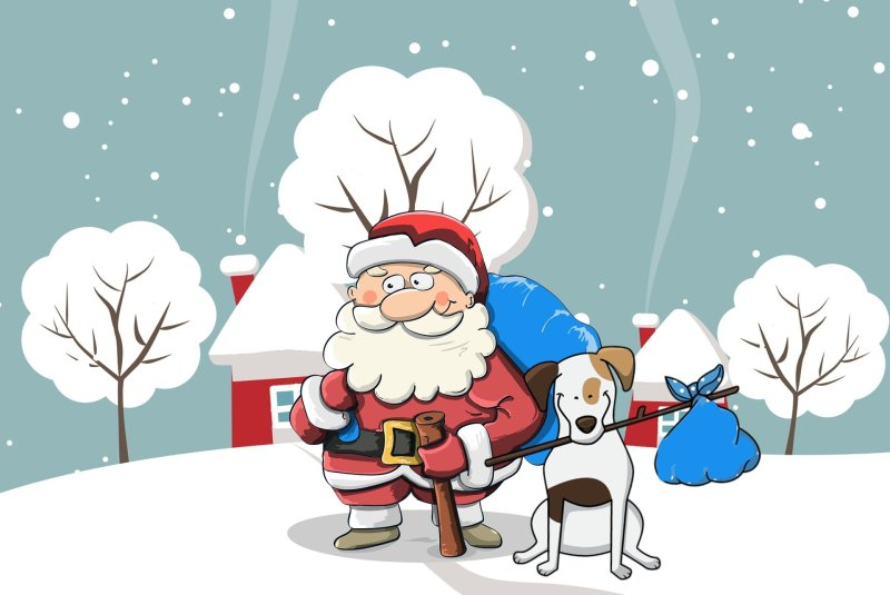Bluesdoodles sending Season's greetings to one and all!