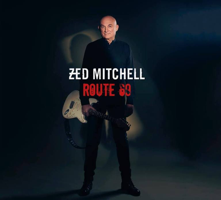 Zed Mitchell and guitar travels Route 69