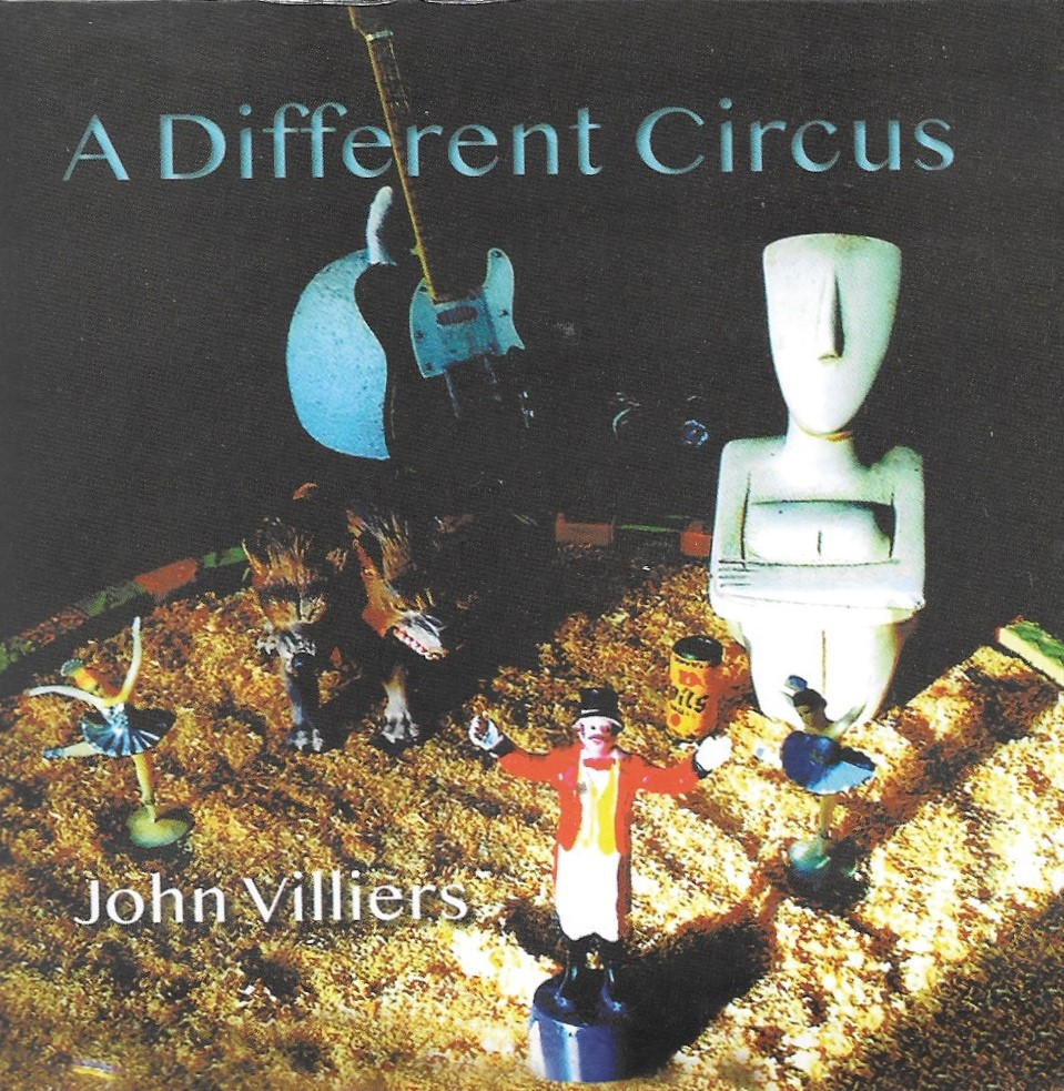 John Villiers is ringmaster of A Different Circus