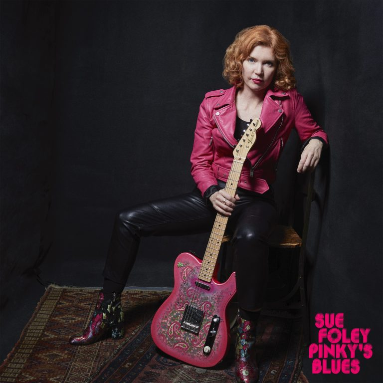 Sue Foley sings and Pinky talks on Pinky's Blues
