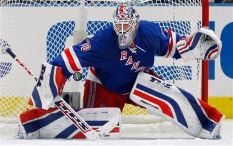 The. Best. Goalie. In. The. World.  (AP Photo/Julie Jacobson)