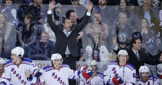 Everybody happy! (AP Photo/The Canadian Press, John Woods)