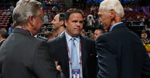 So where does Jeff Gorton rank amongst NHL GM's? Photo: Bruce Bennett (Getty Images)