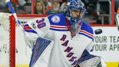 Photo of Henrik Lundqvist named to All Star Team