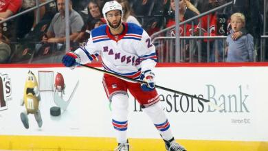Photo of Rangers recall Boo Nieves, return Tim Gettinger to Hartford