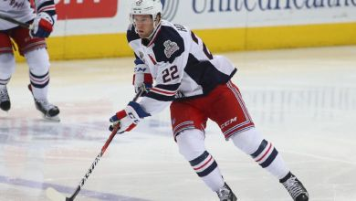 Photo of Rangers acquire Darren Raddysh from Chicago for Peter Holland