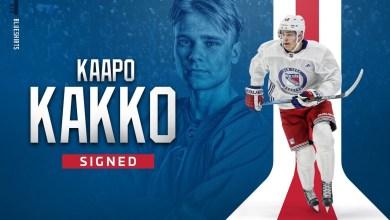 Photo of Rangers sign Kaapo Kakko to entry level deal