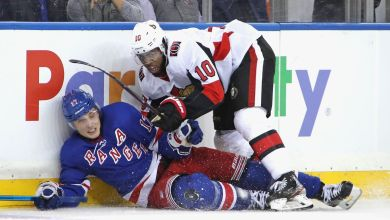 Photo of Rangers crash down to Earth, fall to lowly Senators
