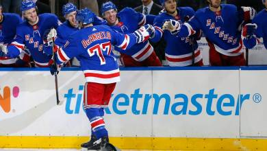 Photo of NY Rangers Goal Breakdown: Tony DeAngelo leads Rangers past Devils with hat trick, five points