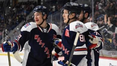 Photo of Pack erase five goal deficit, fall in OT to Utica
