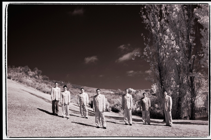 Infrared Wedding Photography at Strawberry Farms Wedding