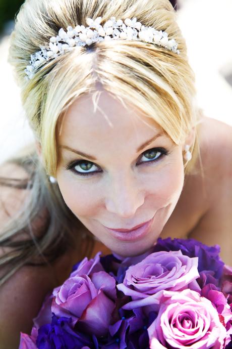Bride at Laguna Cliffs Marriott