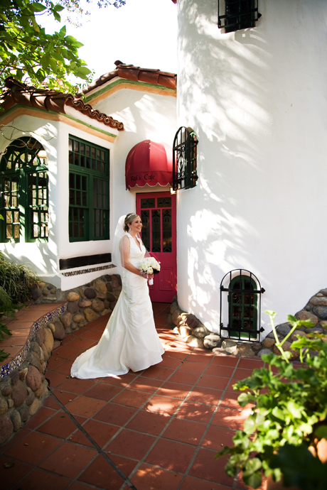 Bride at Rancho Las Lomas