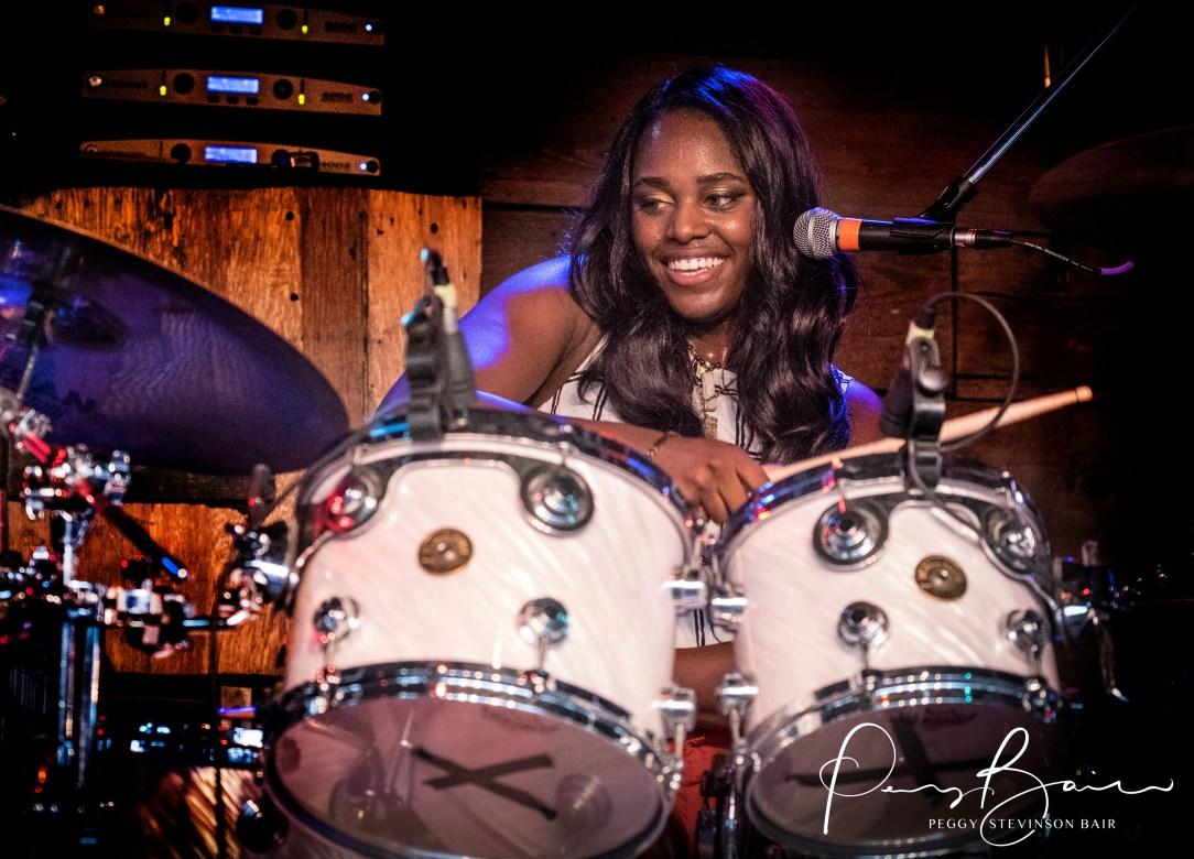 Tikyra Jackson Southern Avenues ©2017 Blues Insights Peggy Stevinson Bair