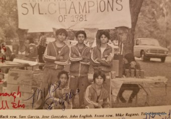 1 Jon English Cross Country Soph Year Fall of 81
