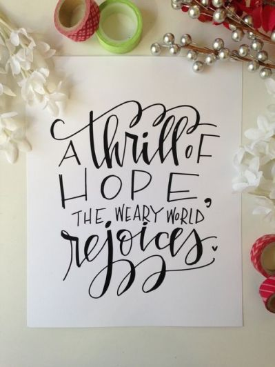 The Weary World Rejoices Blue Skies Amp Lollipops