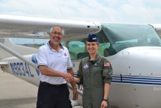 Completion of my Private Pilot's License check ride on June 22, 2013!
