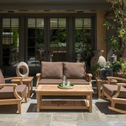 Outdoor Teak Deep Seating Set