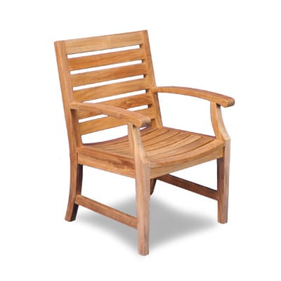 Outdoor Teak Dining Arm Chair