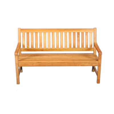 5' Outdoor Teak Bench