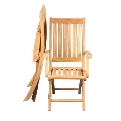 Outdoor Teak Folding Chairs