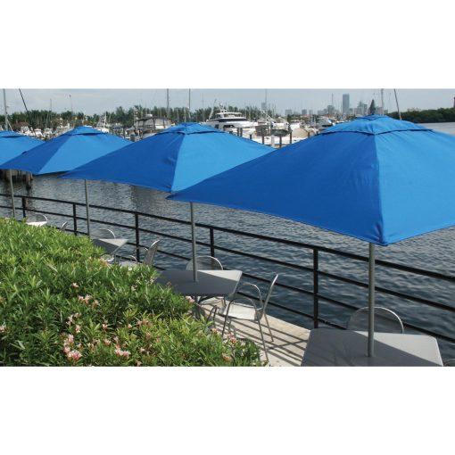 Tuuci Umbrellas, Commercial Restaurant - Blue