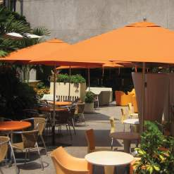 Tuuci Bay Master Fiberglass, Commercial Dining - Orange