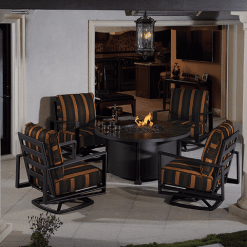Gios Collection Fire Pit Set- 5 Piece
