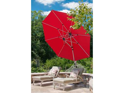 Aurora Octagon Cantilever, Commercial grade - Red