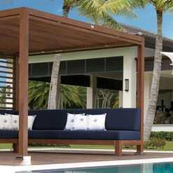 Tuuci Equinox Cabana, Poolside - Wood Finish