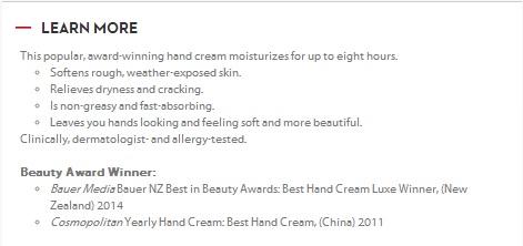 penjelasan ttng hand cream