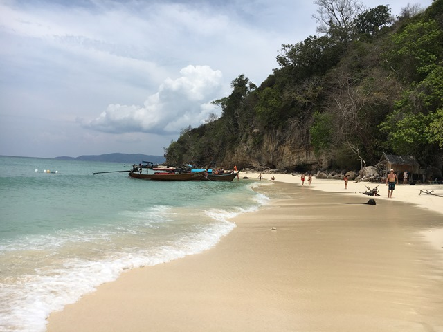 Phi Phi Ley Island, Thailand, Blue Sky and Wine
