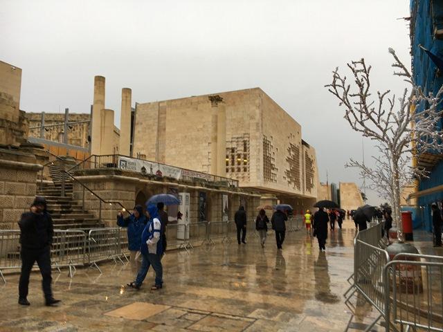 Valletta center, Malta, Blue Sky and Wine