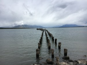 Puerto Natales waterfront, Chile