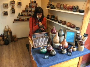 Blue Sky and Wine, handy craft shop in El Calafate, Argentina