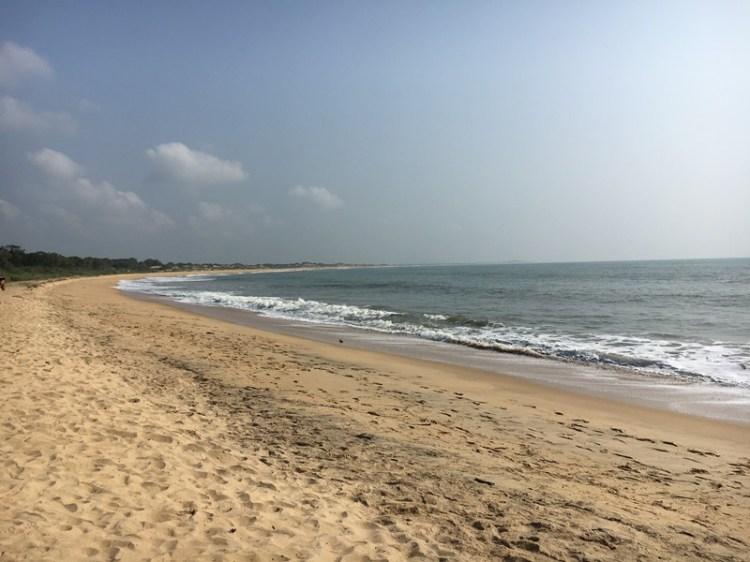 Beach in Yala National Park, Tissamaharama, Sri Lanka, Blue Sky and Wine