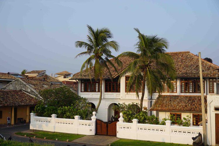 Galle dutch fort, Sri Lanka, Blue Sky and Wine