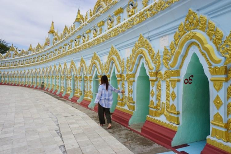 U Min Thonze Temple, Sagaing, Myanmar