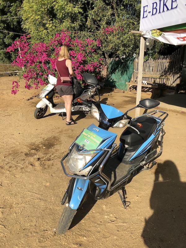 Blue Sky and Wine, E-bike rental