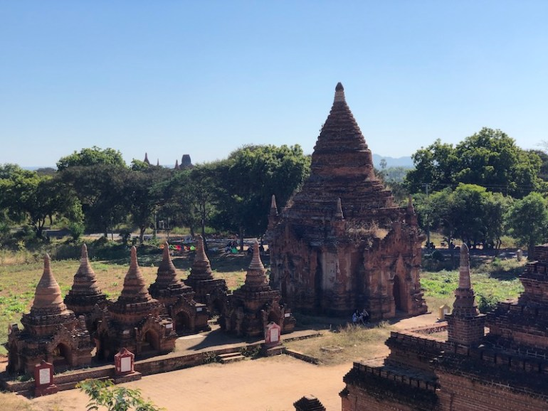 Blue Sky and Wine, Bagan Archaeological Zone