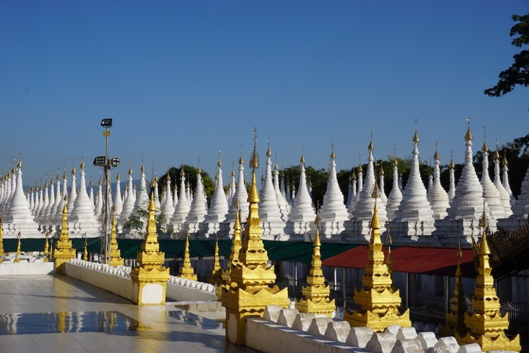 Blue Sky and Wine, Sandamuni & Kuthodaw Pagoda