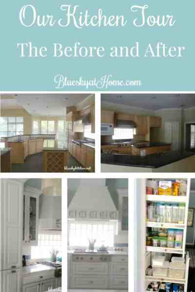 Our Kitchen Tour ~ The Before and After